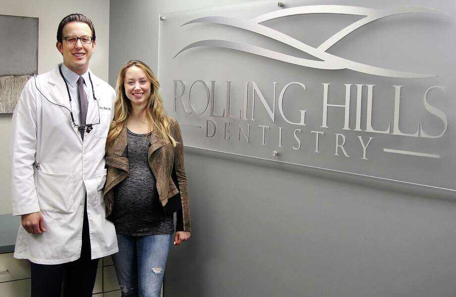 Blake and Kiersten Winokur stand in the new offices of Rolling Hills Dentistry on North Street in Danbury, Conn., on Friday, May 5, 2017. Photo: Chris Bosak / Hearst Connecticut Media / The News-Times