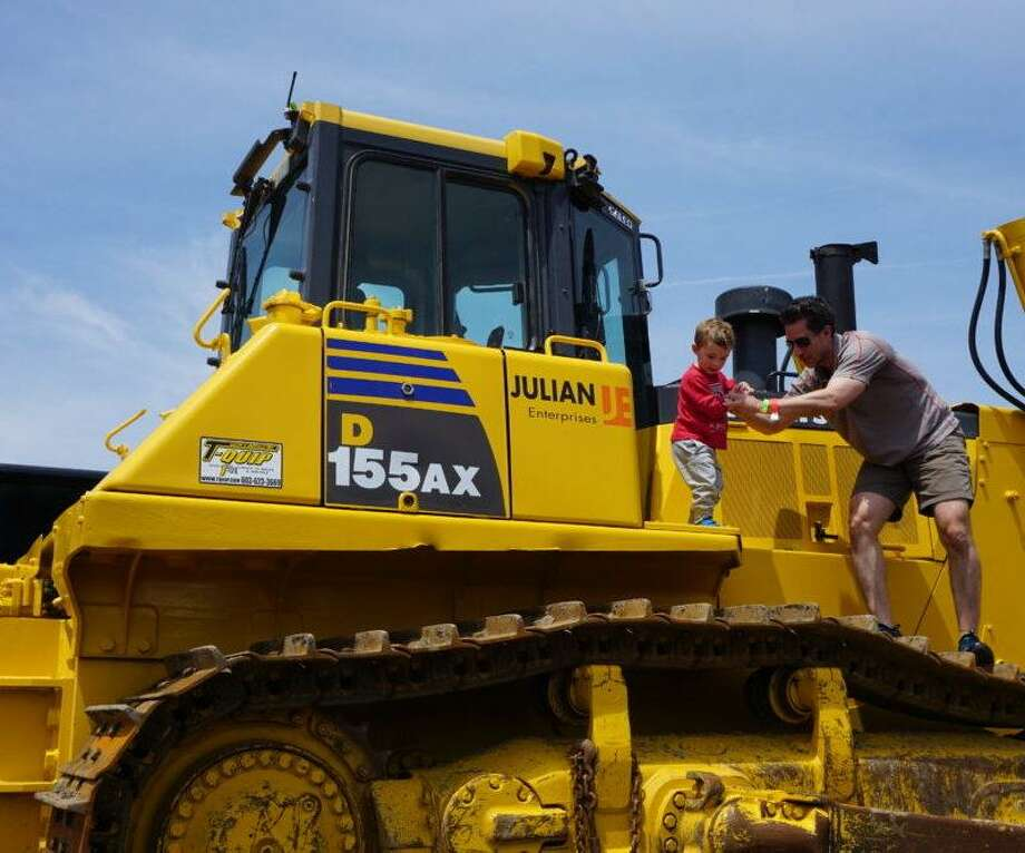 The 2017 Barnum Festival Touch-A-Truck event will take place at Roger Ludlowe High School, in Fairfield, on Saturday, May 13, noon to 4 p.m. Photo: Barnum Festival / Contributed Photo