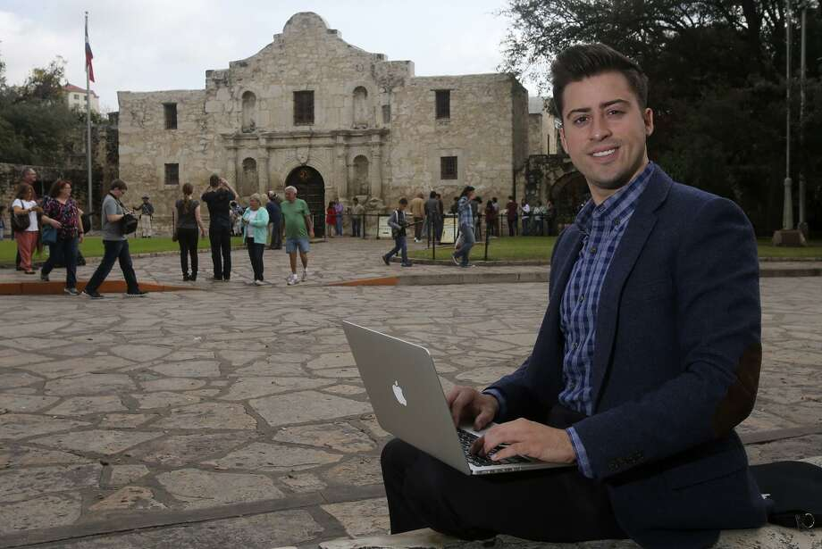 Alberto Altamirano is a co-founder of Cityflag, which just won a contract to design a new 311 app for the city of San Antonio. Photo: San Antonio Express-News File Photo / ©San Antonio Express-News/John Davenport