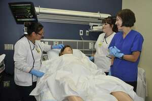 The San Jacinto College nursing program has a reputation across the region for providing clinics and hospitals with graduates who are well-prepared for their field and who often continue their education to pursue bachelor's degrees in nursing. The College is home to ADN programs at the Central and North Campuses, and an LVN/paramedic to ADN transition program is set at the South Campus. The College also offers LVN and Certified Nursing Assistant (CNA) programs.