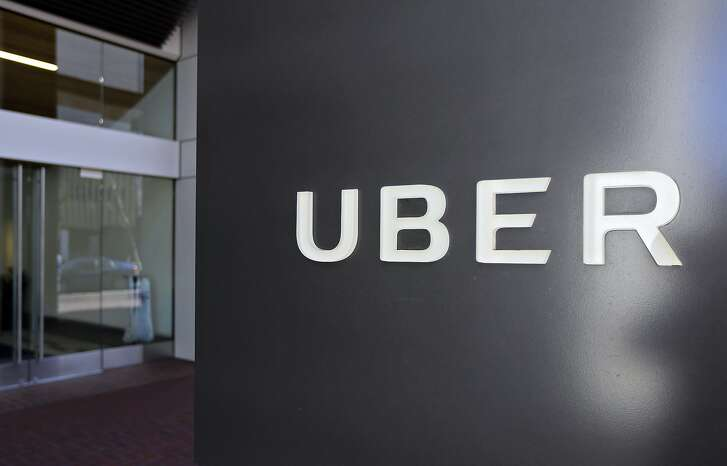 FILE- This March 1, 2017, file photo shows an exterior view of the headquarters of Uber in San Francisco. The Justice Department is probing allegations that Uber used phony software to thwart city inquiries into whether the ride-hailing company followed local regulations. The city of Portland, Ore., says in an April 2017 audit report that it was notified of the federal inquiry by the U.S. Attorney's Office in San Francisco. Portland said it's cooperating. Uber and the U.S. Attorney's Office declined comment. (AP Photo/Eric Risberg, File)