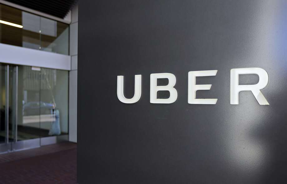 This March 1, 2017, file photo shows an exterior view of the headquarters of Uber in San Francisco. A federal judge ruled Thursday night that a lawsuit between Waymo and Uber over self-driving car technology will go to trial. Photo: Eric Risberg, Associated Press