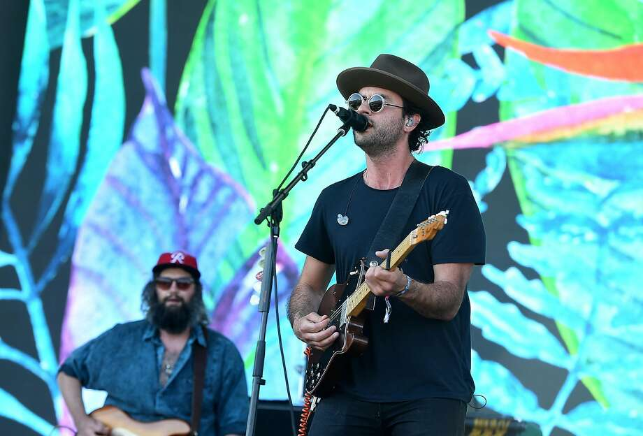 INDIO, CA - APRIL 22:  Musicians Chris Zasche (L) and Jonathan Russell of The Head and the Heart perform on the Coachella Stage during day 2 of the 2017 Coachella Valley Music & Arts Festival (Weekend 2) at the Empire Polo Club on April 22, 2017 in Indio, California.  (Photo by Kevin Winter/Getty Images for Coachella) Photo: Kevin Winter, Getty Images For Coachella