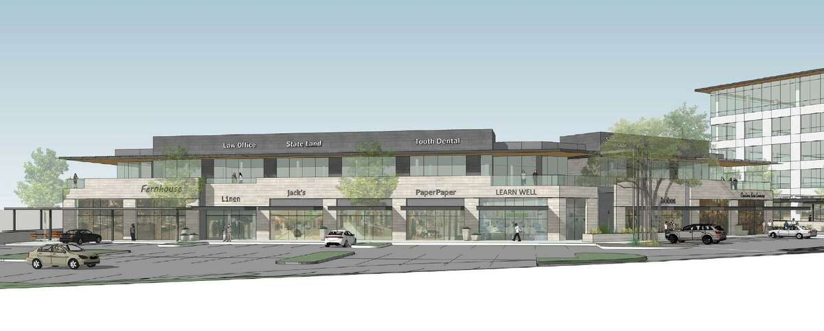 The project in the Medical Center area, shown in this rendering, will be similar Fulcrum's high-end Landmark office building at Interstate 10 and Loop 1604.
