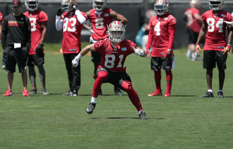 1c670a91c Short and not so sweet  49ers WR Taylor runs angry - SFGate