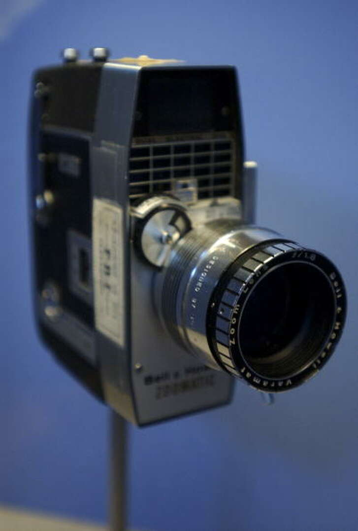 In 1963, the camera used by Zapruder that captured the assassination of President John F. Kennedy was a high-end Bell & Howell model.