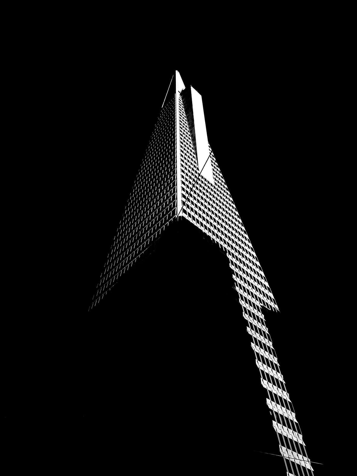 Burton Rast is working on a photograpy project on his Instagram page exploring the shapes of San Francisco.