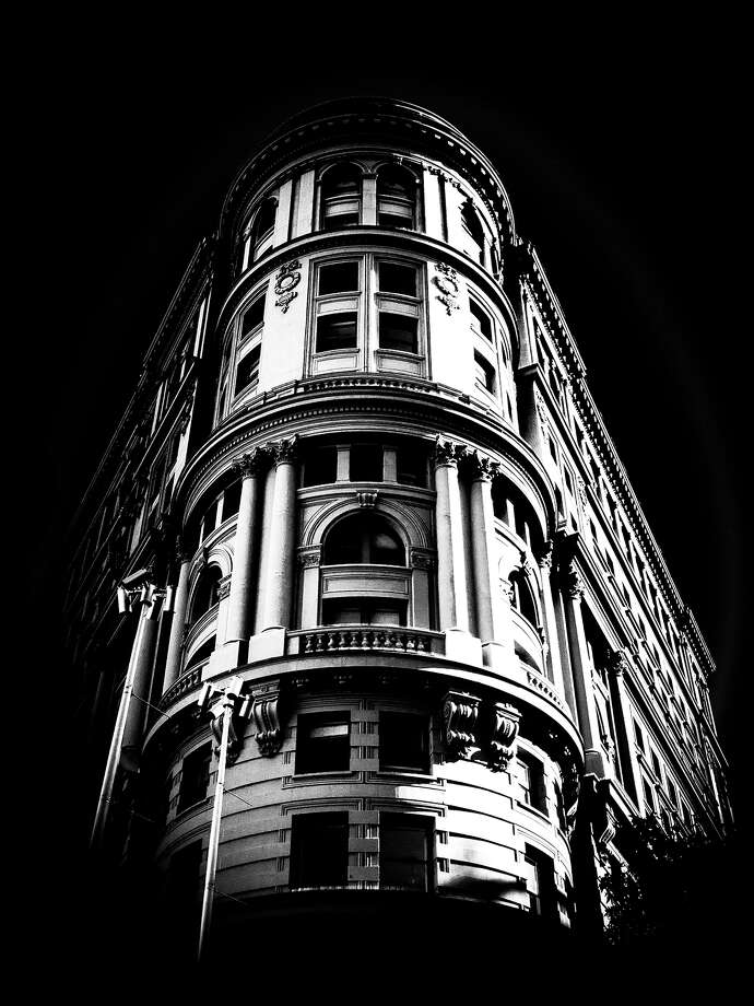 Burton Rast is working on a photograpy project on his Instagram page exploring the shapes of San Francisco. Photo: Burton Rast