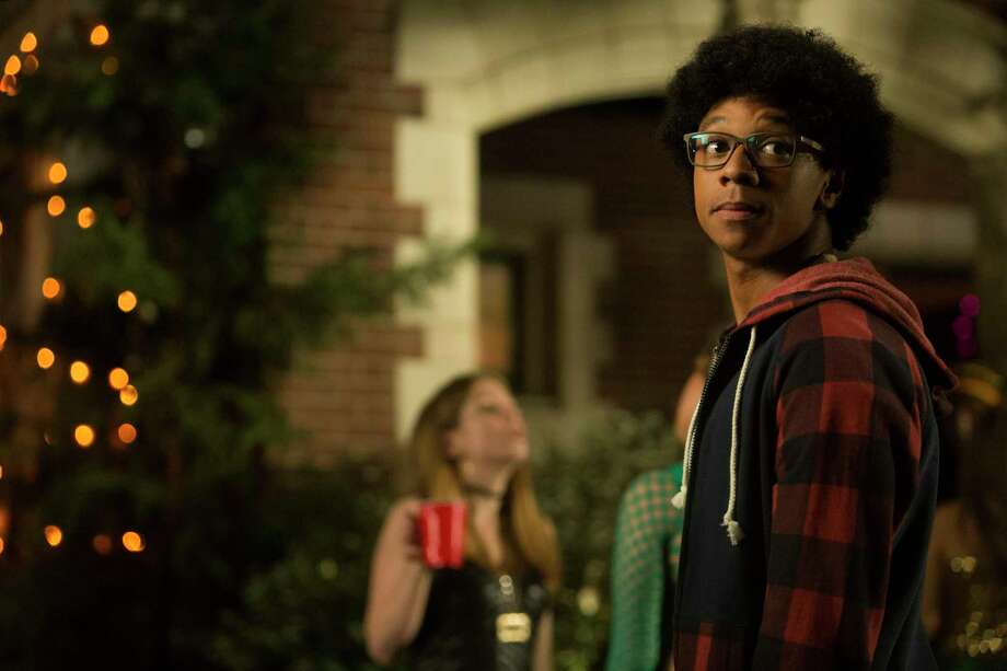 """DeRon Horton stars in """"Dear White People"""" and feature film """"Burning Sands."""" """"Both have a strong theme of black students trying to find their way in college because it's a reality,"""" Horton says. Photo: Netflix"""