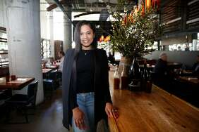 Ayesha Curry partnered with Michael Mina on a new restaurant called International Smoke, which will replace RN74, seen on Thursday, May 4, 2017, in San Francisco. Curry's restaurant is slated to open a new location in Houston, where some basketball fans are not yet over the playoff loss to Curry's husband and the Golden State Warriors.