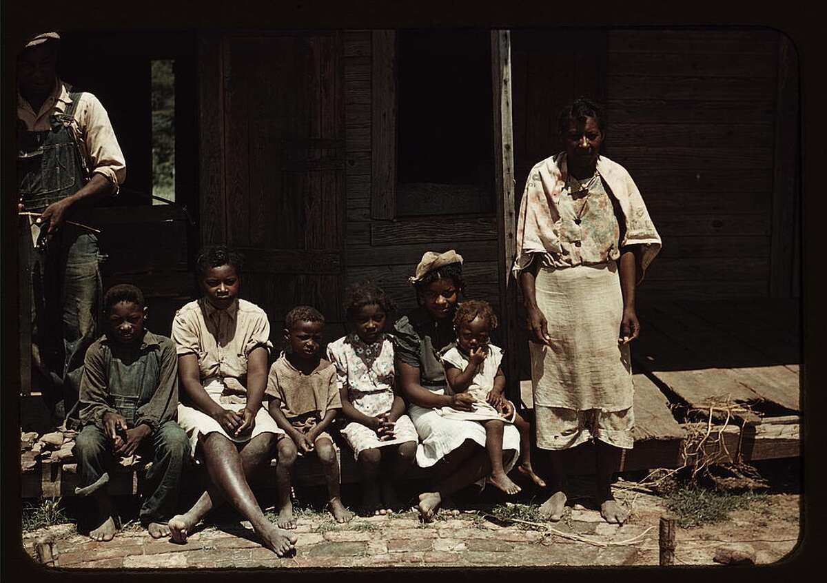 The Great Depression hit the poorest areas of the U.S. hardest of all, and the American South was no exception. Tenant farmers and migrant workers were already living in extreme poverty and suffering under Jim Crow laws of the region, but during the Depression things became even more starkly dire. These photos were captured by photographers working for the United States Farm Security Administration (FSA) and later the Office of War Information (OWI), mostly in 1939, 1940 and 1941. These are more unusual in the fact that they are presented in full color, while most of the vast number of FSA and OWI images from the same era are in black and white. Note: The original captions have been retained except where they used racially offensive terms. Those terms have either been removed or replaced as necessary. Original caption: