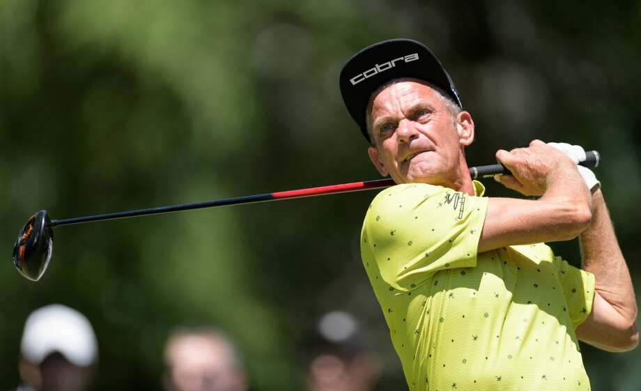 A lack of birdies prevented defending champion Jesper Parnevik from contending this week at The Woodlands Country Club. Photo: Wilf Thorne/For The Chronicle