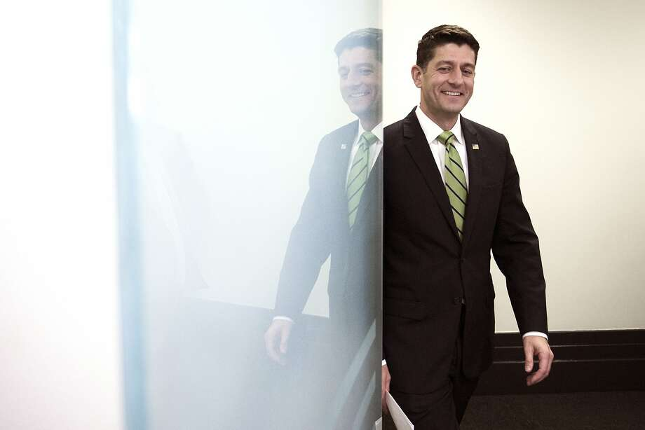 """This is who we are,"" House Speaker Paul Ryan said last week about the Republican health care bill. ""This will define us."" Photo: Cliff Owen, Associated Press"