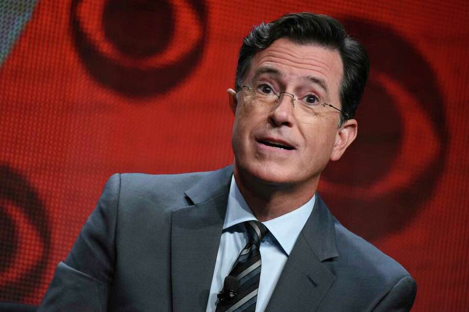 """""""Late Show"""" host Stephen Colbert dished a bit on U.S. Sen. Ted Cruz, R-Texas, in an interview with PageSix.com. Colbert said Cruz went on the show hoping the host would """"humanize"""" him. Photo: Richard Shotwell, INVL / Invision"""