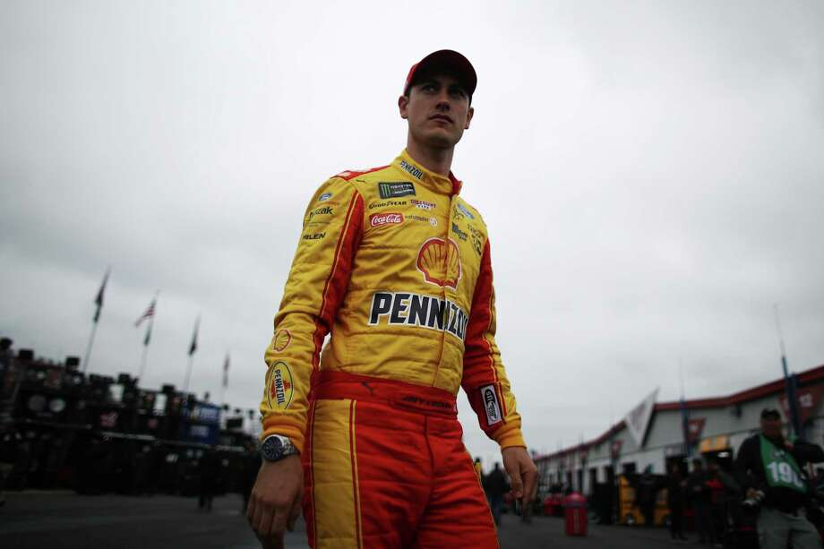 TALLADEGA, AL - MAY 05:  Joey Logano, driver of the #22 Shell Pennzoil Ford, walks through the garage area during practice for the Monster Energy NASCAR Cup Series GEICO 500 at Talladega Superspeedway on May 5, 2017 in Talladega, Alabama.  (Photo by Chris Graythen/Getty Images) ORG XMIT: 691281525 Photo: Chris Graythen / 2017 Getty Images