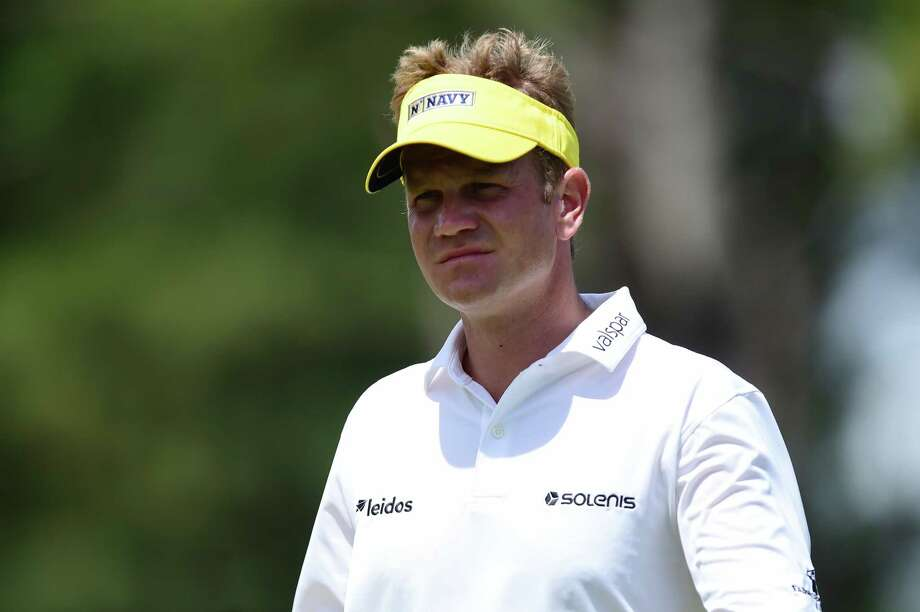 WILMINGTON, NC - MAY 4: Billy Hurley III walks on the eighth hole during round one of the Wells Fargo Championship at Eagle Point Golf Club on May 4, 2017 in Wilmington, North Carolina. (Photo by Jared C. Tilton/Getty Images) ORG XMIT: 686973467 Photo: Jared C. Tilton / 2017 Getty Images