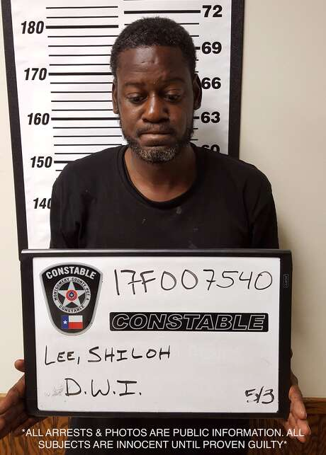 Shiloh Lee, 44, was arrested after police said he was driving the wrong way along a stretch of Grand Parkway in Spring. Photo: Montgomery County Sheriff's Office