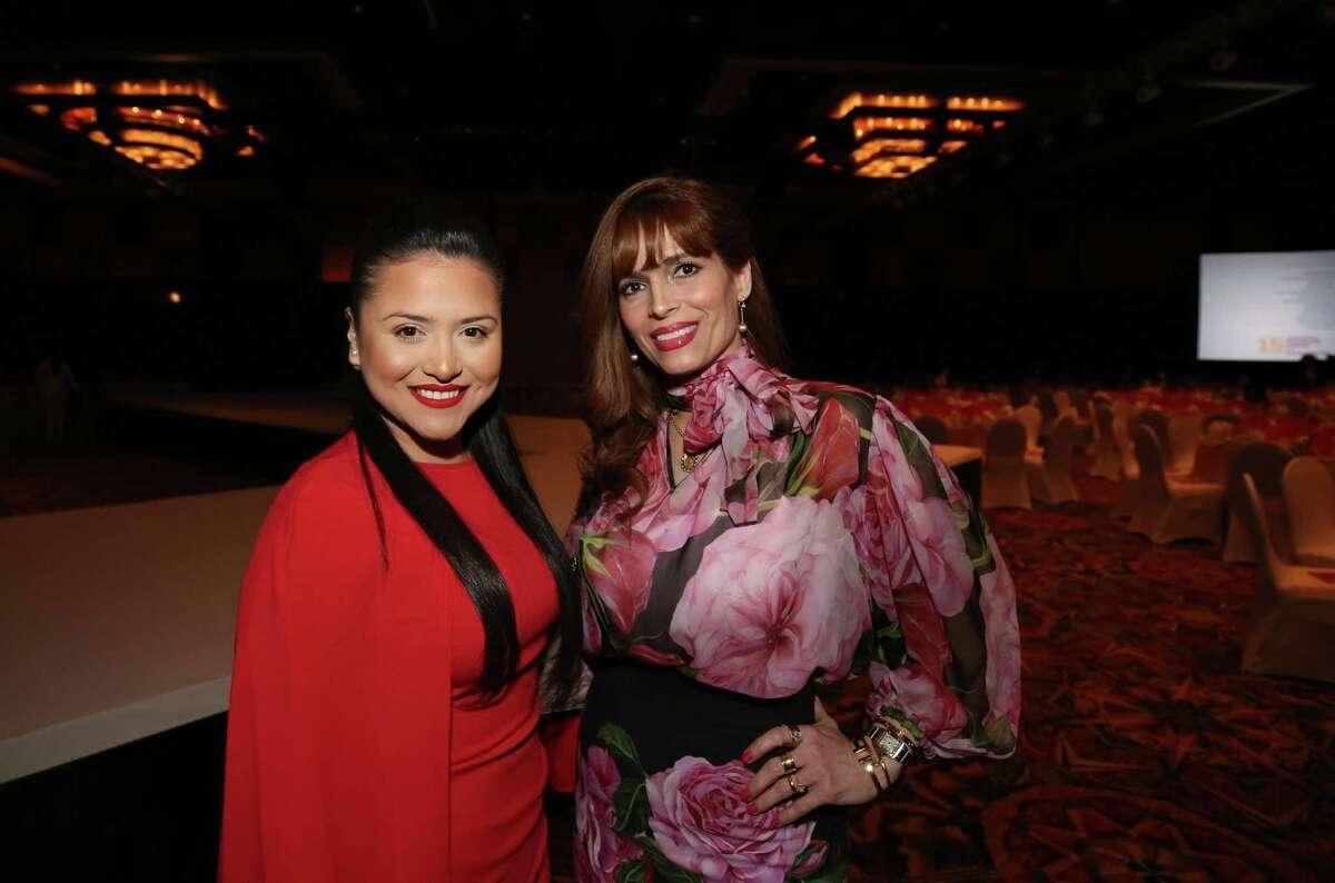 Daisy Mendoza and Karina Barbieri