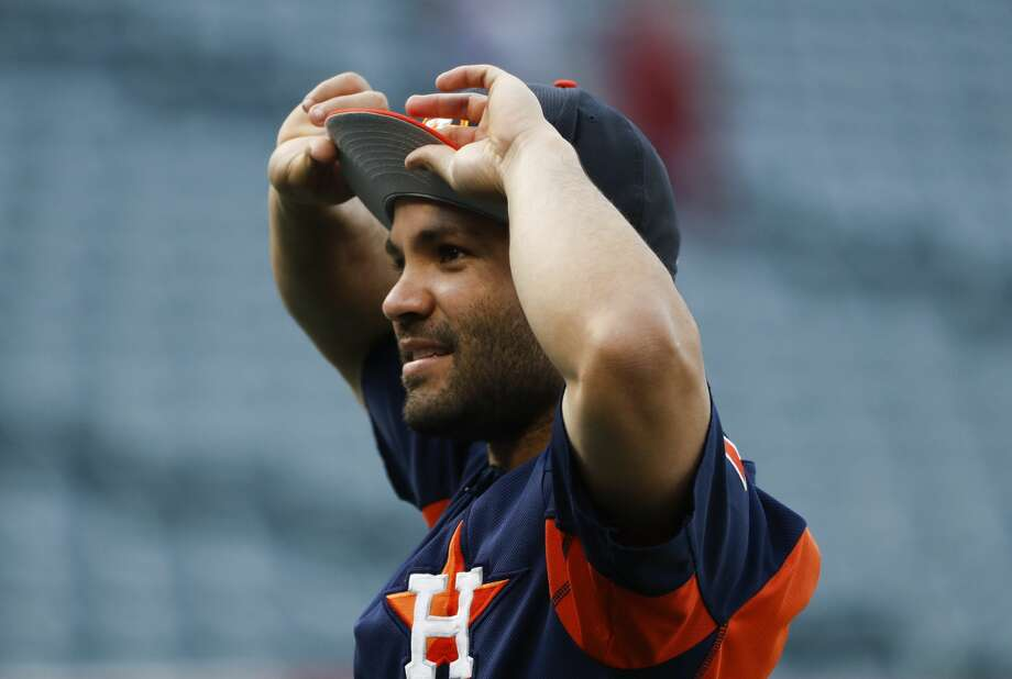 Saturday's day off was Jose Altuve's first of the season that wasn't related to his April 25 on-field collision with outfielder Teoscar Hernandez Photo: Jae C. Hong/Associated Press