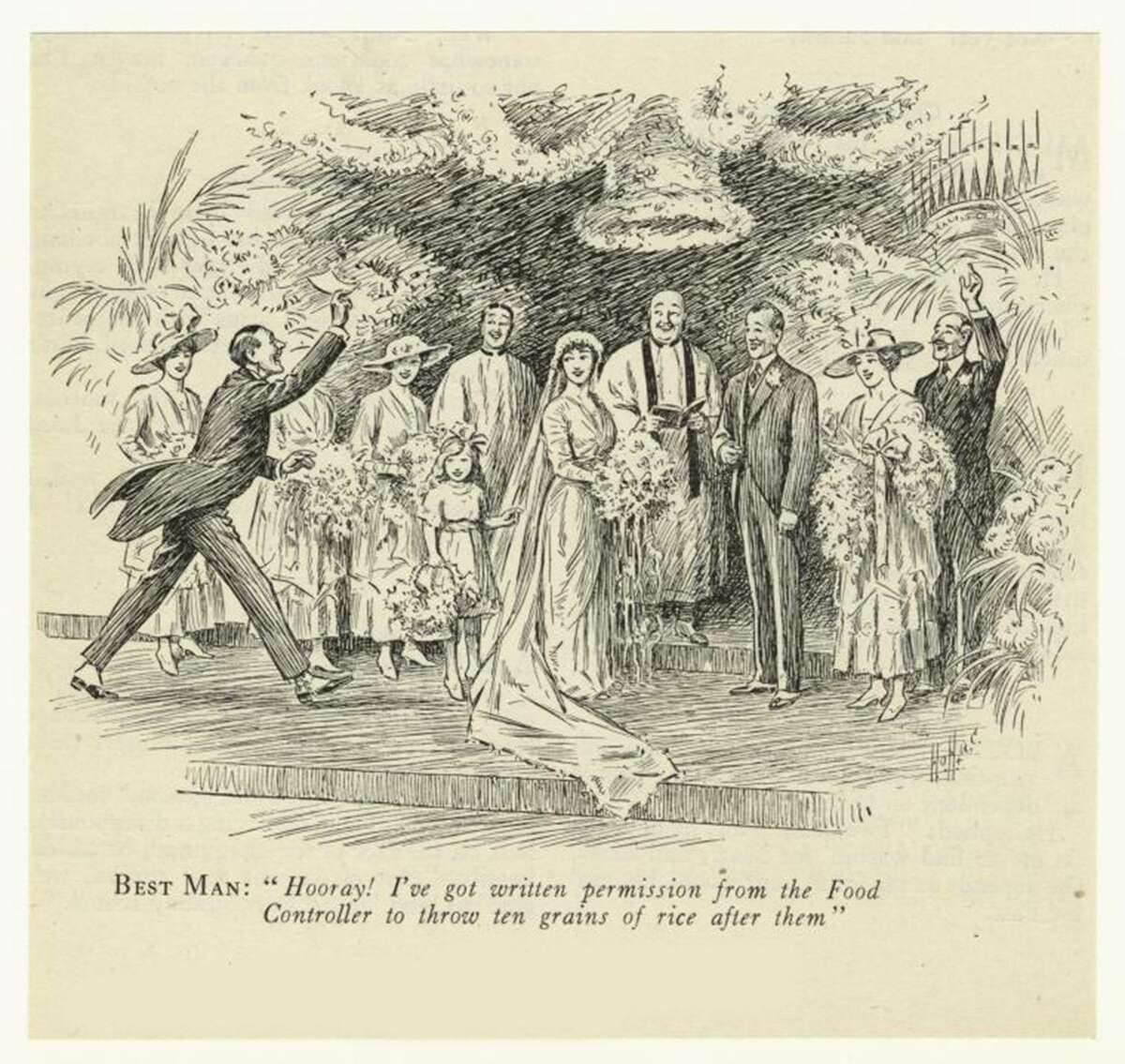 Food historian Sarah Wassberg will discuss food and its relation to wedding traditions from 2:30-4:30 p.m., Sunday, June 11, at the Lockwood-Mathews Mansion Museum. In her talk, she will illustrate how American weddings went from families in the parlor to today's lavish dinners with dancing.