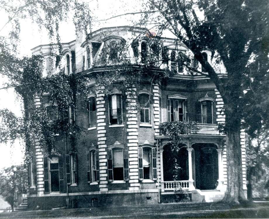 The William Wheeler home was located at 419 E. Vandalia but is no longer in existence. Photo: Madison County Historical Society