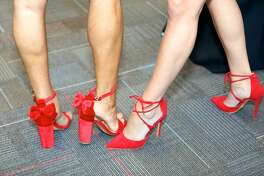 The 14th Annual Red Shoes Gala was on Friday, May 5, 2017 at the Rosenberg Sky Room on the University of the Incarnate Word campus. The gala benefited the St. Peter-St. Joseph Children's Home.