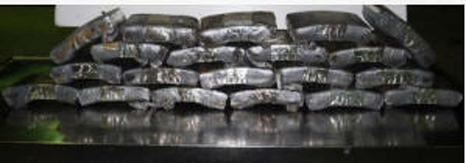 Customs and Border Protection agents say they seized 55 pounds of cocaine from inside the wheels of a 2012 Dodge Ram truck at the Rio Grande City border crossing on April 30, 2017.Click through the slideshow to see the biggest busts on the Texas-Mexico border