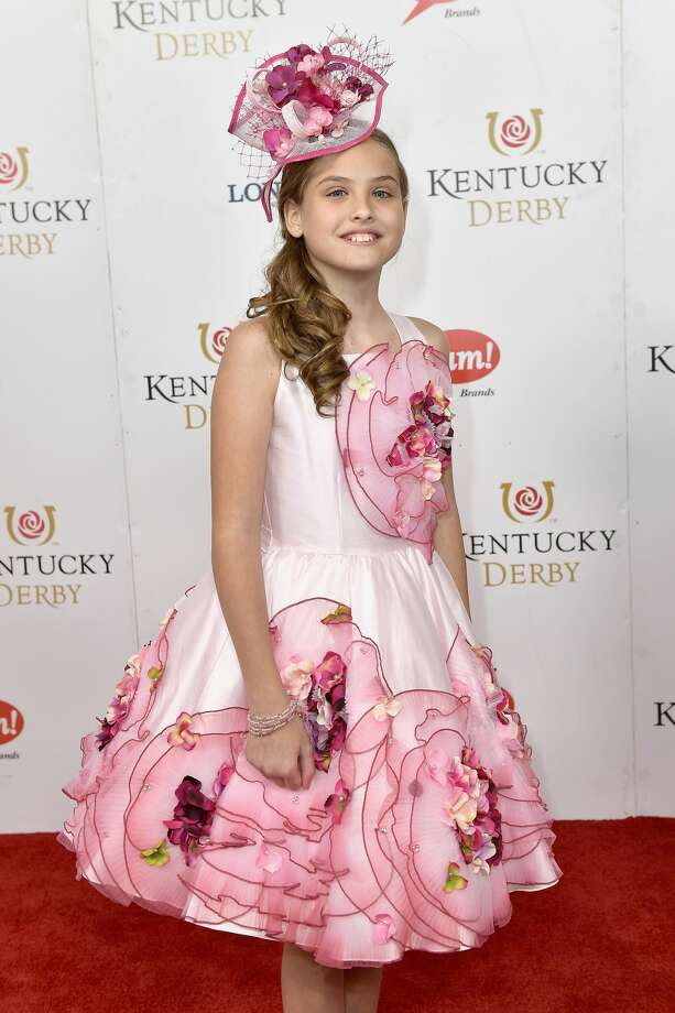 Dannielynn Birkhead attends the 143rd Kentucky Derby at Churchill Downs on May 6, 2017 in Louisville, Kentucky. Photo: Gustavo Caballero/Getty Images For Churchill Downs