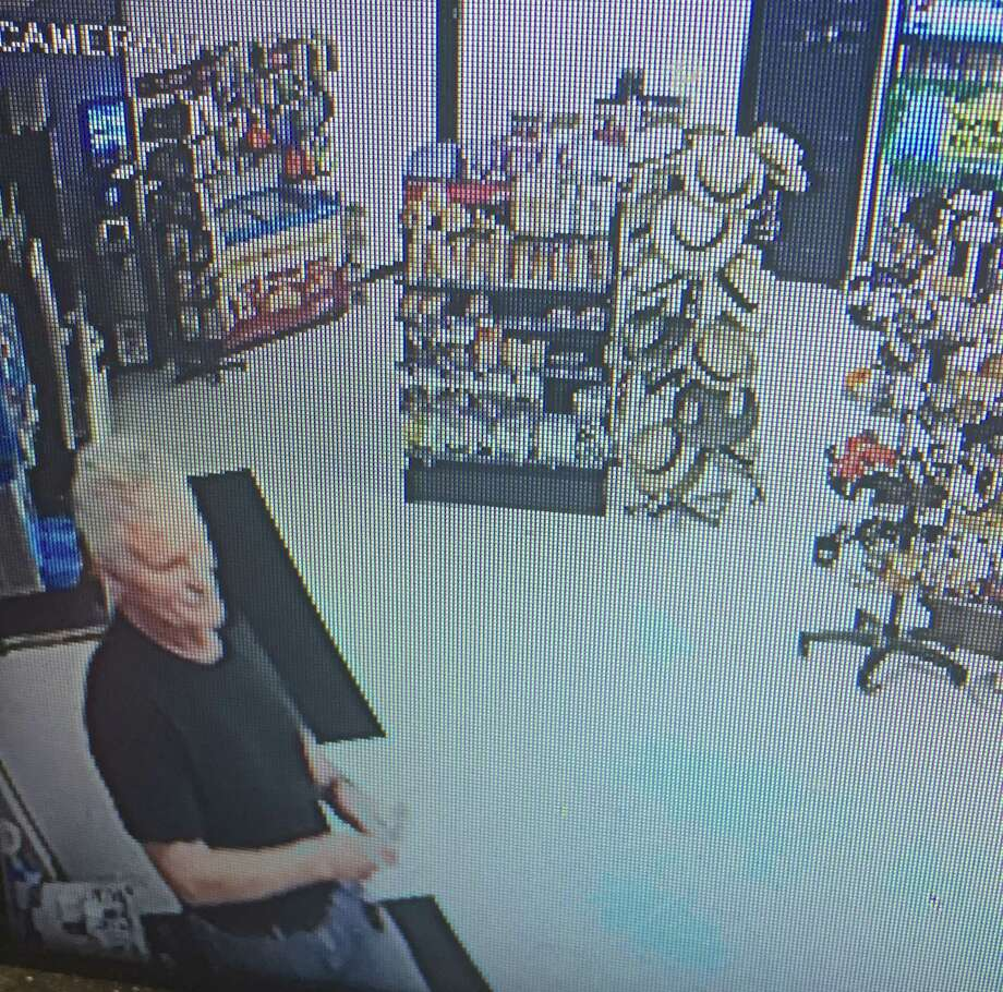 North Greenbush police released this photo as part of their investigation into a robbery at a Dollar Tree store. Photo: Provided By North Greenbush Police
