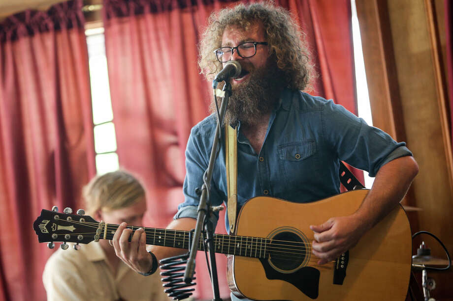 Hunter McKithan, of The New Offenders, performs during the Conroe Americana Music Festival on Sunday, May 7, 2017, at the Corner Pub in downtown Conroe. Photo: Michael Minasi/Houston Chronicle