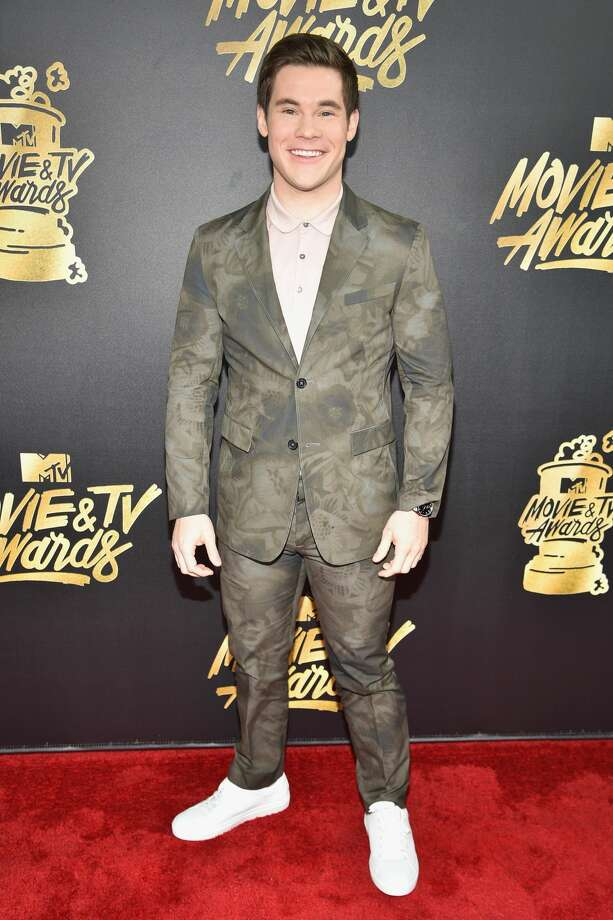 Adam Devine attends the 2017 MTV Movie And TV Awards at The Shrine Auditorium on May 7, 2017 in Los Angeles. Photo: Jeff Kravitz/FilmMagic