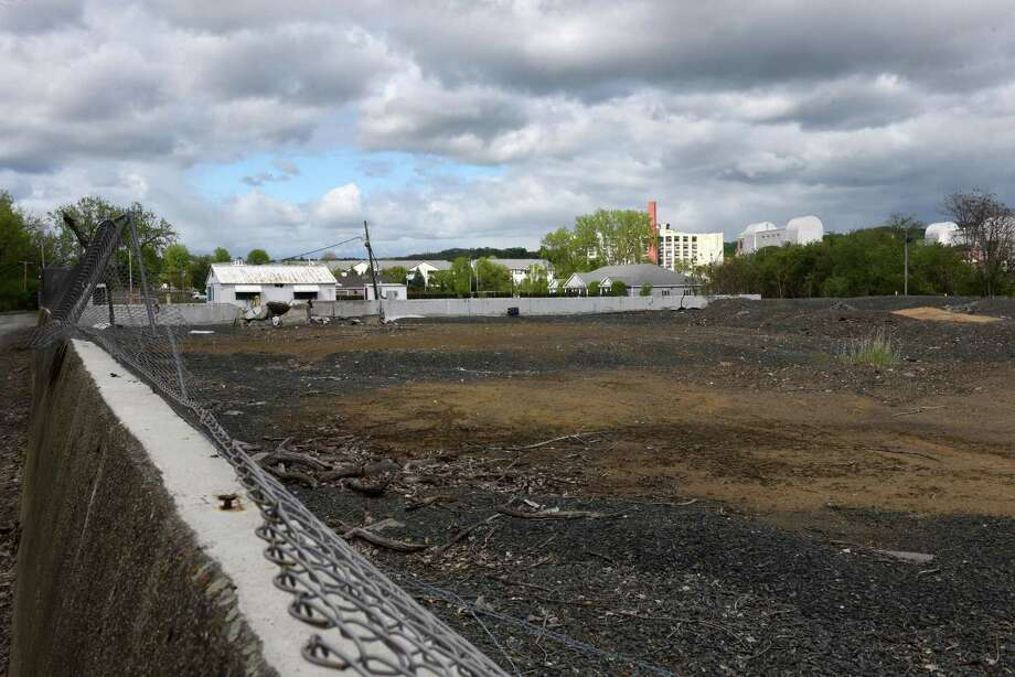 View of a former industrial site on an island in the Hudson River between Troy at the south end of Green Island. Environmental cleanup work that started in 2017 for the project should continue through early 2020, according to the state Department of Environmental Conservation.(Will Waldron/Times Union) Photo: Will Waldron