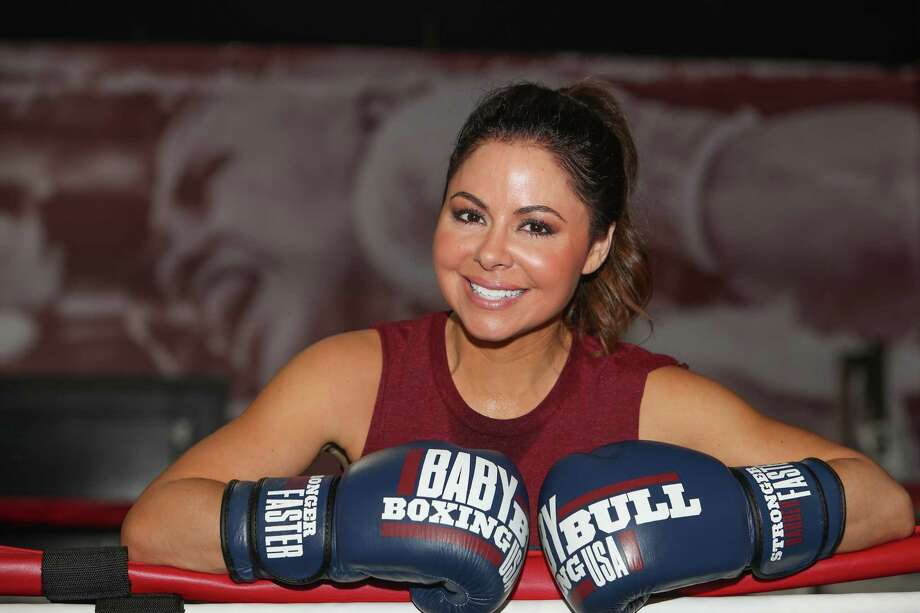 KPRC Channel 2's Jennifer Reyna, who returned to working out after taking a six-year leave, works out at Baby Bull Boxing. Read her story.  Photo: Steve Gonzales, Staff / © 2017 Houston Chronicle