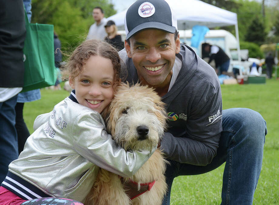 The Westport-Weston Chamber of Commerce held its second annual Westport Dog Festival on Sunday, May 7, 2017, at Winslow Park. Festival-goers and their dogs enjoyed vendors, food trucks, face painting, training sessions, a doggy obstacle course and more. Were you SEEN? Photo: J.C. Martin / Connecticut Post