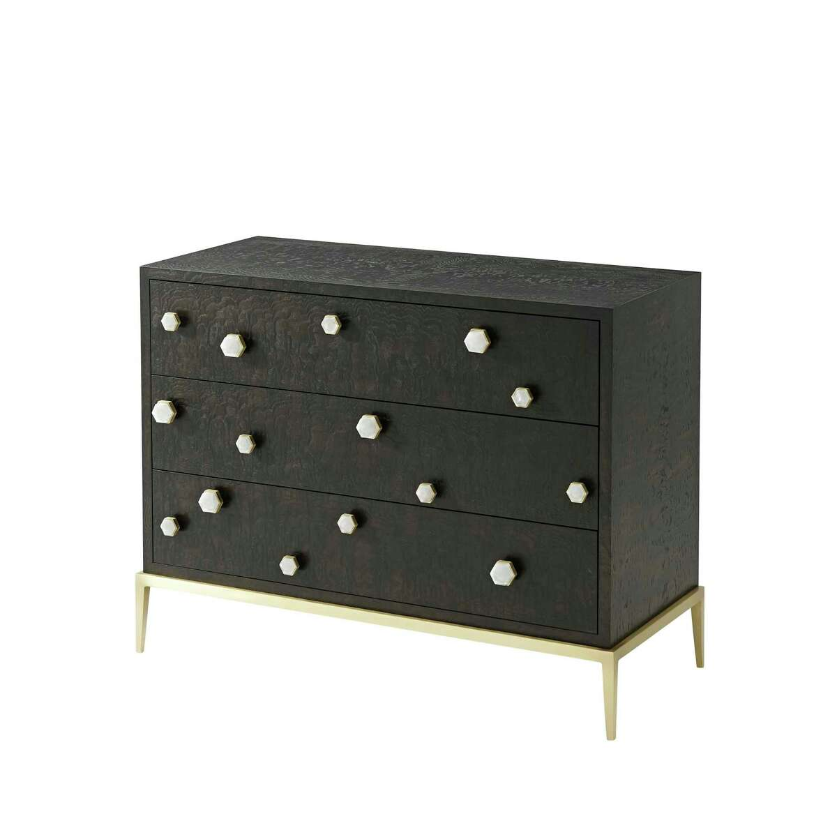 Case goods:Quality craftsmanhip in case goods like this Apollo chest by Ashley Childers for Emporium Home was cited by designers as a standout at High Point's spring furniture market.
