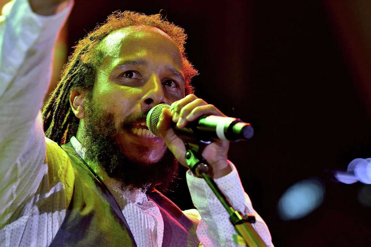 """July 13: Ziggy Marley Reggae artist and eldest son of Bob Marley, Ziggy Marley's songs include """"True To Myself' and """"Love Is My Religion."""""""