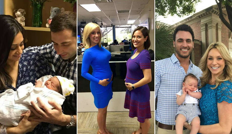 In 2017, the staff at KHOU has been busy popping out babies with a total of 11 new parents on staff as of May. Continue clicking to see who has become new parents and who are expecting this year. Photo: Facebook