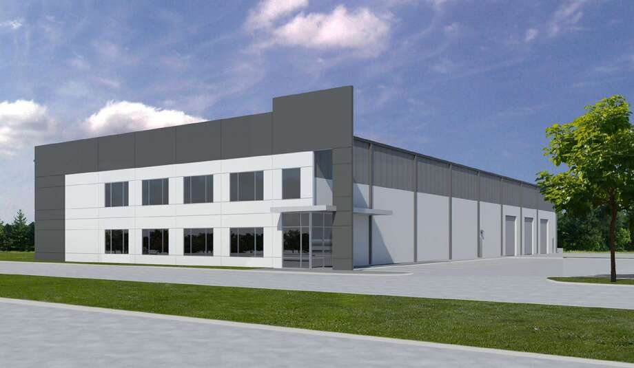 A planned industrial facility for the new Beltway-225 Business Park in Pasadena