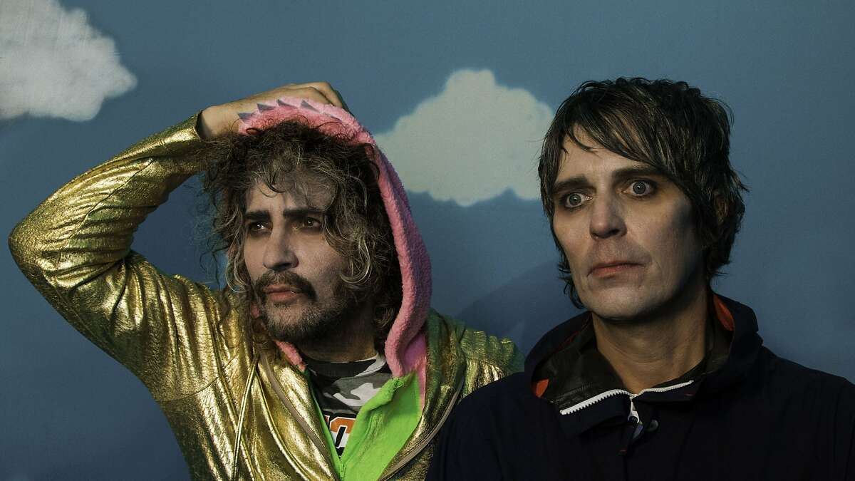 Wayne Coyne and Steven Drozd of The Flaming Lips.