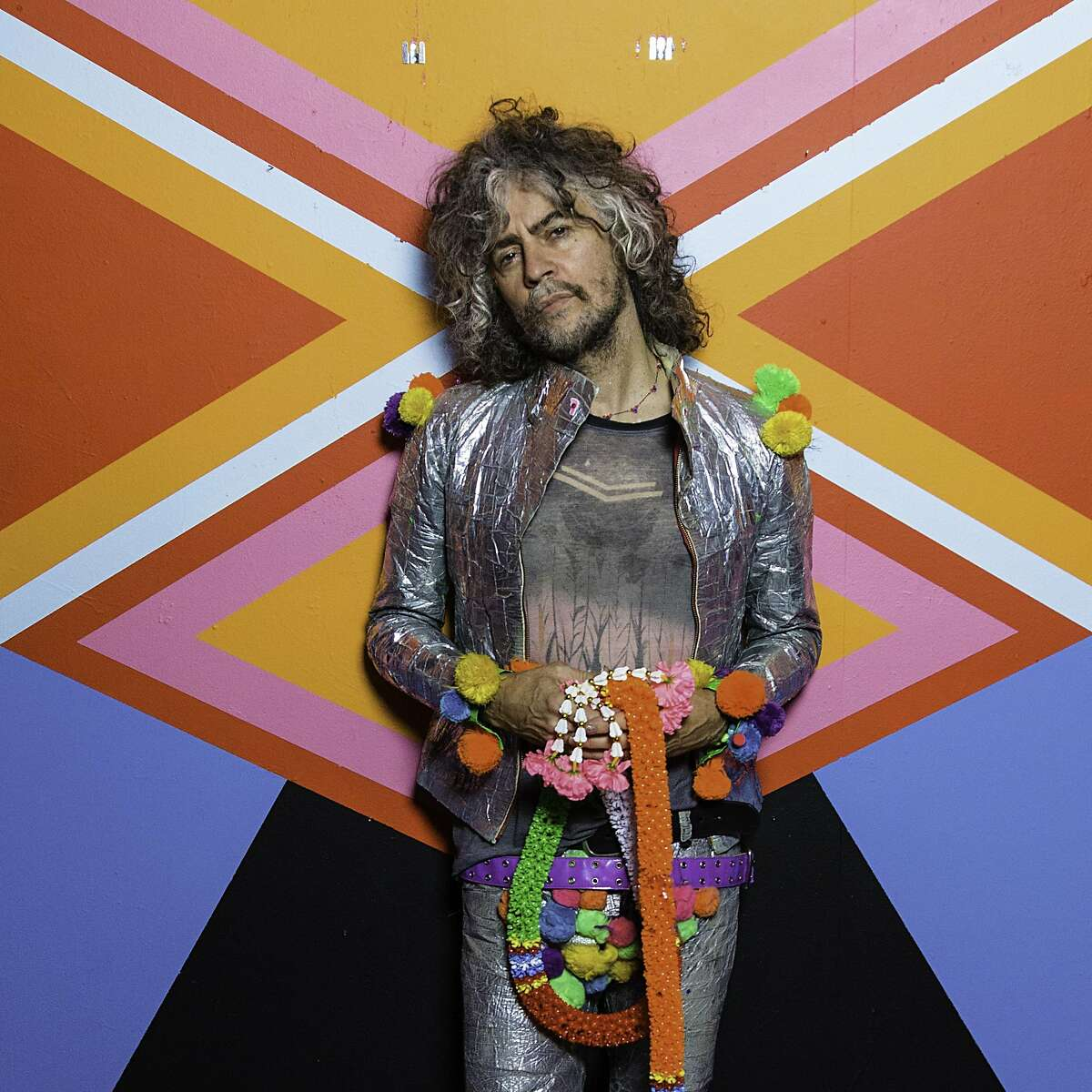 Wayne Coyne is the lead singer of The Flaming Lips, which performs May 10 at the Fox Theater in Oakland.