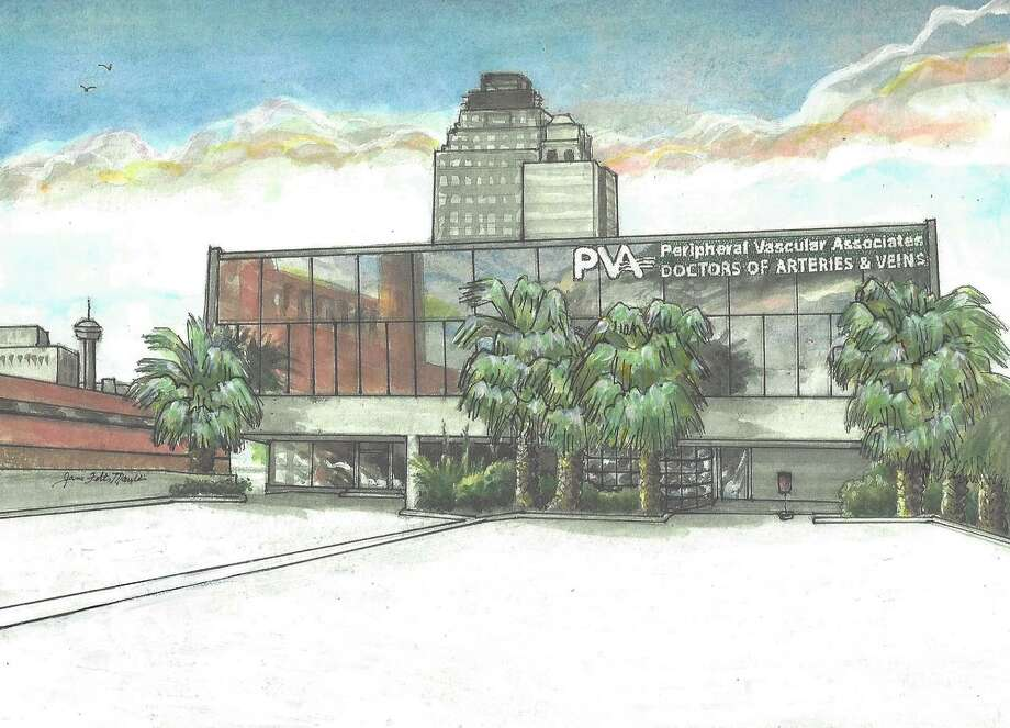 Peripheral Vascular Associates, a local medical group that specializes in arteries and veins, is renovating an aging office building downtown for use as its new headquarters. Photo: Courtesy Of PVA