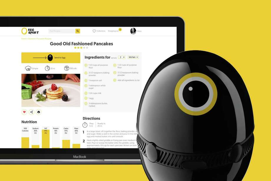 Hello Egg is a virtual assistant will help plan weekly meals according to dietary preferences, organize shopping lists, order grocery delivery and provide recipe videos. MUST CREDIT: Hello Egg. Photo: Hello Egg / The Washington Post
