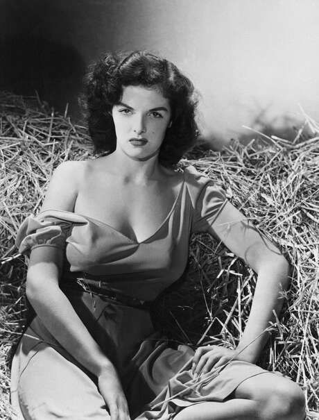 Jane Russell in a promotional photo for 'The Outlaw.' Photo: Getty Images