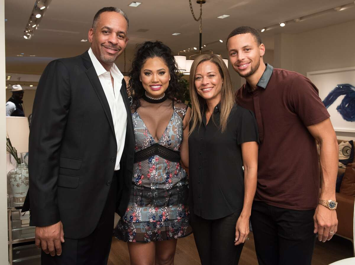 It's Sonya Curry, mother to Steph Curry, wife to Dell Curry, and grandmother to Steph and Ayesha Curry's daughters.