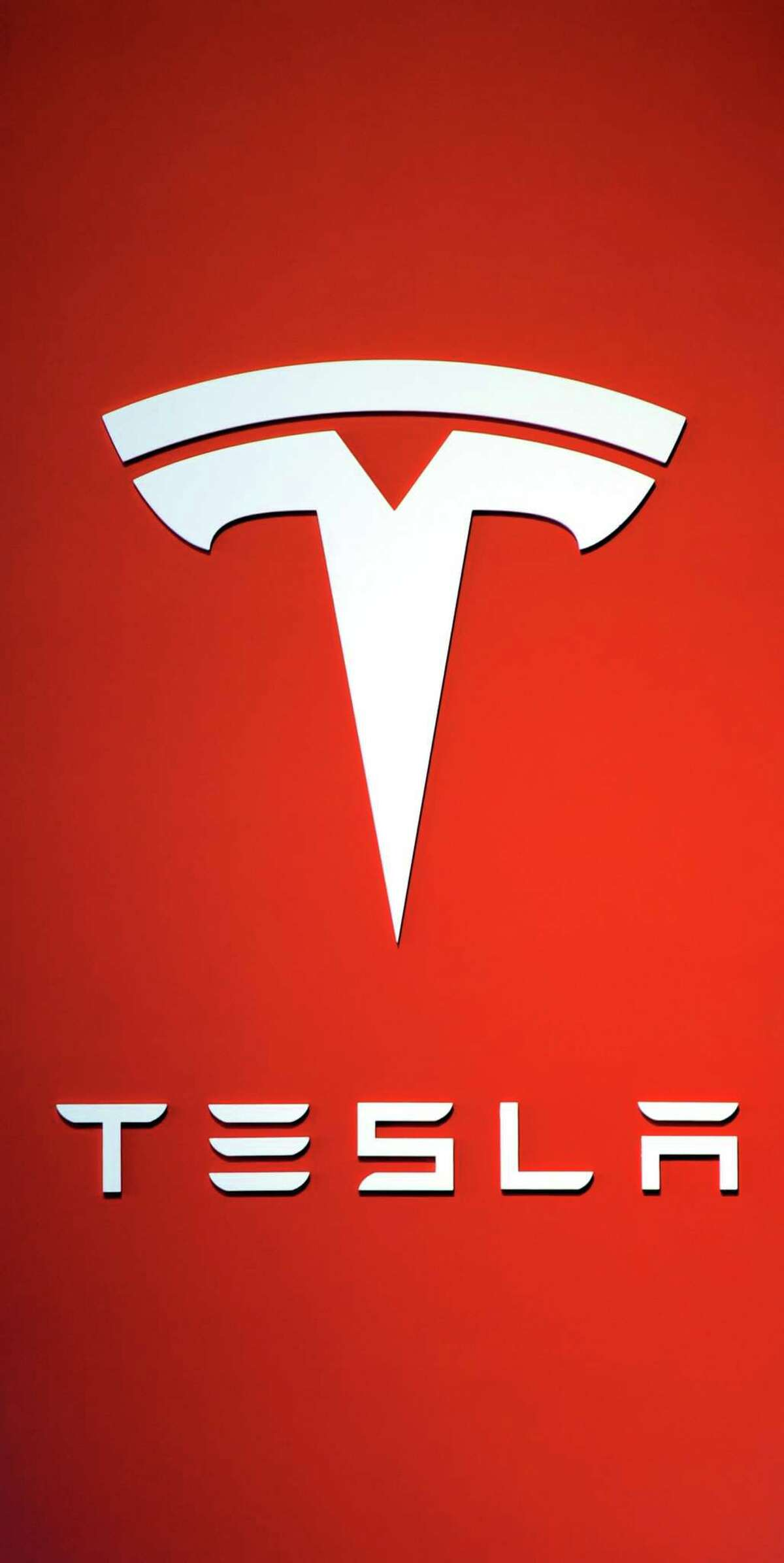 The logo for the Tesla Motors