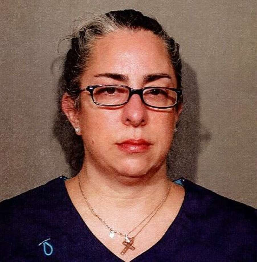 Jenny Demichael, 48, of Norwalk, CT turned herself into police in New Canaan, CT on May 2 for a warrant for charges of failing to appear. Photo: Contributed Photo / Contributed Photo / New Canaan News contributed