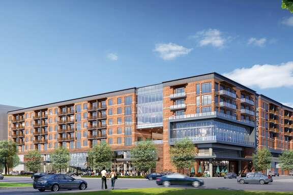 Rendering of first phase of Buffalo Heights District.
