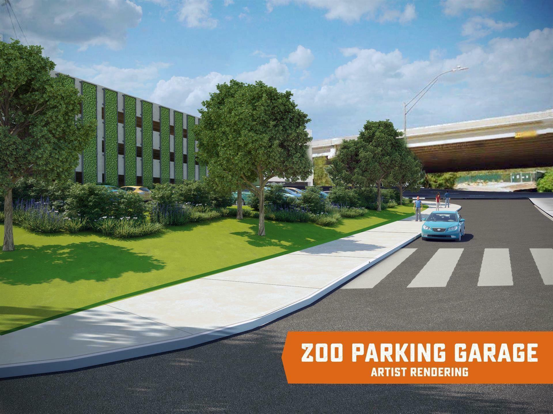 Parking At The San Antonio Zoo Expected To Get A Lot