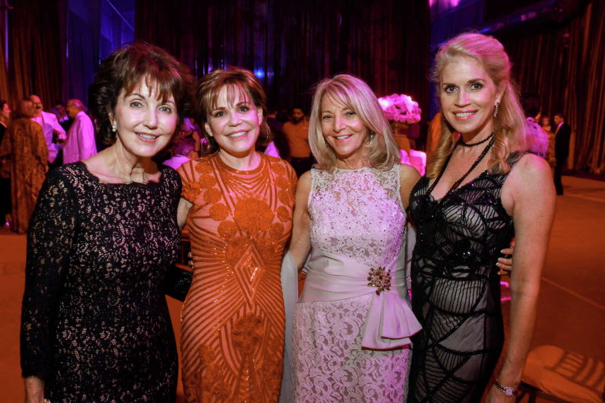 Paula Wilson, from left, Hallie Vanderhider, Margaret Boben and Ann Young at the Alley Theatre's