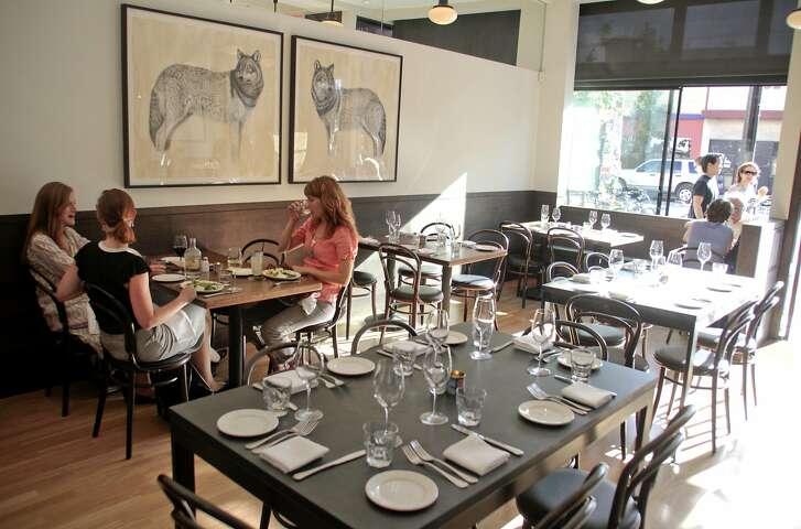 Diners enjoy dinner at Locanda restaurant In San Francisco, Calif., on June 20th, 2011.